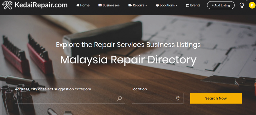 Malaysia Repair Directory and Marketplace. Repair Shops & Services